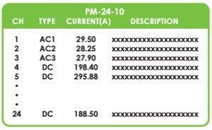 PM-24 EDGEWARE POWER MONITOR