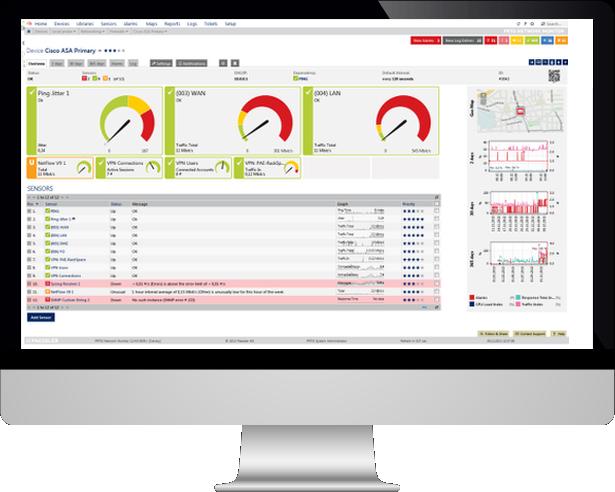 Kentix y PRTG, vaya un paso más allá en su monitoreo de Datacenter